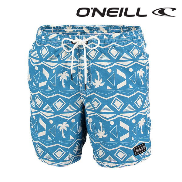 오닐 남성 보드숏 503222 THIRST FOR SURF BOARDSHORT - BLUE AOP