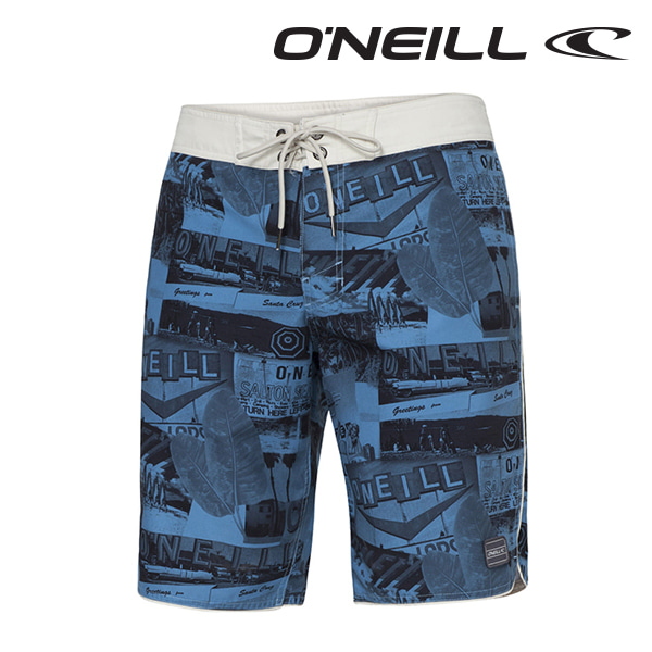 오닐 남성 보드숏 503148 BILLBOARD BOARDSHORT - BLUE AOP