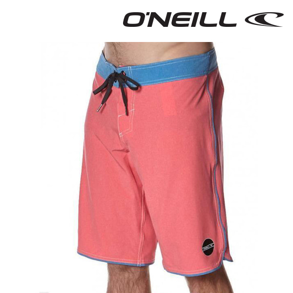 오닐 남성 보드숏 503122 HYPERFREAK EVERYDAY BOARDSHORT - HIBISCUS RED