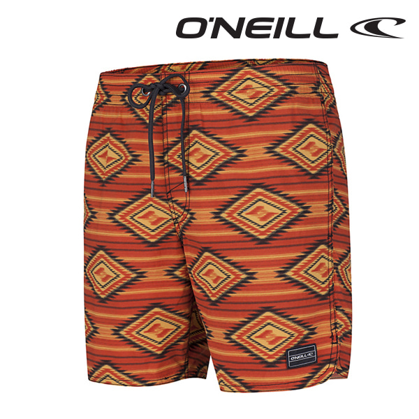 오닐 남성 보드숏 503222 THIRST FOR SURF BOARDSHORT - RED AOP