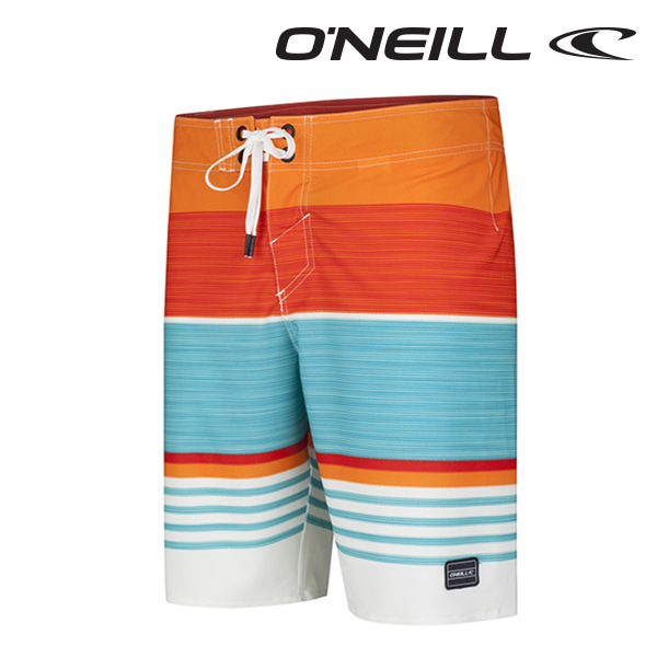 오닐 남성 보드숏 503112 HYPERFREAK HEIST BOARDSHORT - RED AOP