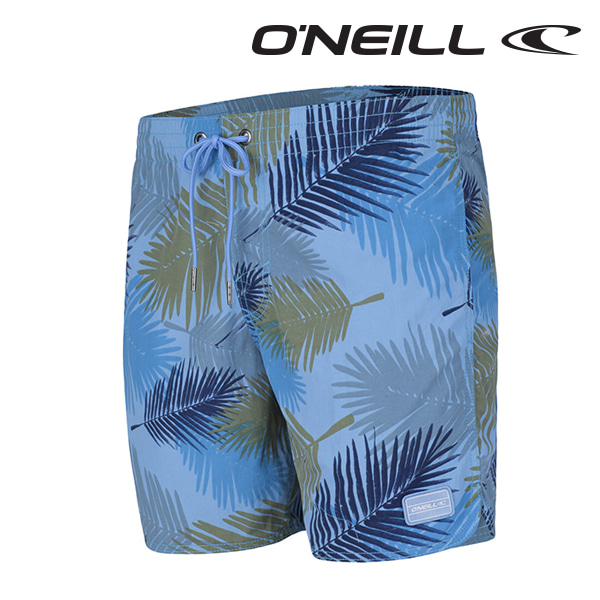 오닐 남성 보드숏 503222 THIRST FOR SURF BOARDSHORT - BLUE AOP W/BLUE