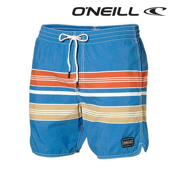 오닐 남성 보드숏 503228 CHAMBERS BOARDSHORT - BLUE AOP W/RED